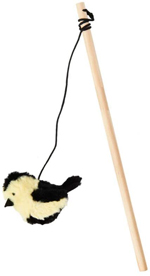 Spot Songbird Teaser Wand Cat Toy Assorted 1ea/16 in