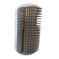 Spot Silver Vine Self Groomer For Cats Grey 1ea/5 in