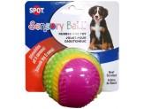 Spot Sensory Ball Dog toy Assorted 1ea/3.25 in, Medium