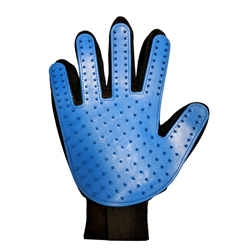 Spot Dog Grooming Glove Blue, Black 1ea/9 in