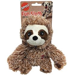 Spot Fun Sloth Plush Dog Toy Assorted 1ea/7 in