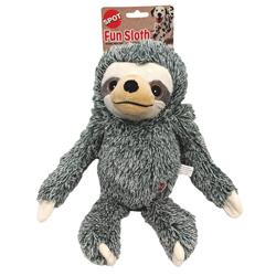 Spot Fun Sloth Plush Dog Toy Assorted 1ea/13 in