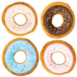 Spot Tasty Donuts Dog Toy Assorted 1ea/7.5 in