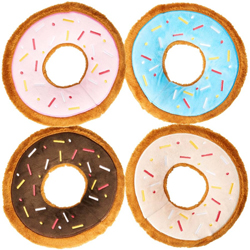 Spot Tasty Donuts Dog Toy Assorted 1ea/9 in