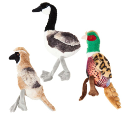 Spot Bird Calls Plush Dog Toy Assorted 1ea/12 in