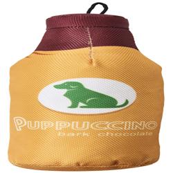 Spot Fun Drink Puppucino Dog Toy Orange 1ea/9.5 in