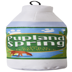 Spot Fun Drink Pupland Springs Dog Toy Green 1ea/11 in