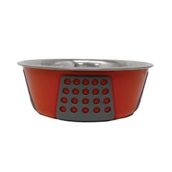 Spot Tribeca Dog Bowl Red 1ea/15 oz