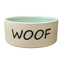 Spot Woof Dog Bowl Green 1ea/7 in