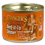 Evangers Heritage Classic Beef It Up Dinner Can Cat Food 24ea/5.5oz