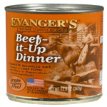 Evangers Heritage Classic Beef It Up Dinner Can Cat Food 12ea/12.8oz