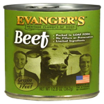 Evangers Heritage Classic Beef Can Dog Food 12ea/12.8oz