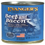 Evangers Heritage Classic Beef & Bacon Can Dog Food 12ea/12.8oz