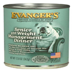 Evangers Heritage Classic Senior/Weight Management Can Dog Food 12ea/12.8oz