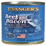 Evangers Heritage Classic Beef & Bacon Can Dog Food 12ea/20.2oz