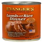 Evangers Heritage Classic Jumbo Lamb & Rice Dinner Can Dog Food 12ea/20.2oz