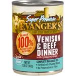 Evanger's Super Premium Limited Ingredient Venison/Beef Dinner Dogs Food 12ea/12.8 oz, 12 pk