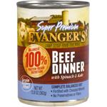 Evanger's Super Premium Beef Dinner Canned Dog Food 12ea/12.8 oz, 12 pk