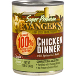 Evanger's Super Premium Chicken Dinner Canned Dog Food 12ea/12.8 oz, 12 pk