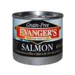 Evangers Grain-Free Wild Salmon Can Dog & Cat Food 24ea/6oz