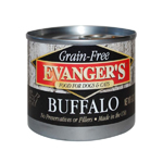 Evangers Grain-Free Buffalo Can Dog & Cat Food 24ea/6oz