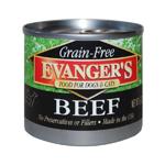 Evangers Grain-Free Beef Can Dog & Cat Food 24ea/6oz