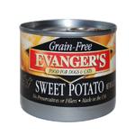 Evangers Grain-Free Sweet Potato Can Dog & Cat Food 24ea/6oz