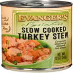 Evangers Signature Series Slow Cooked Turkey Stew Can Dog Food 12ea/12oz