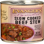 Evangers Signature Series Slow Cooked Beef Stew Can Dog Food 12ea/12oz