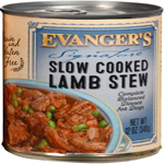 Evanger's Signature Series Slow Cooked Lamb Stew Canned Dog Food 12ea/12 oz, 12 pk