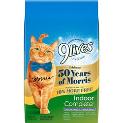 9Lives Indoor Complete Dry Cat Food 1ea/3.15 lb