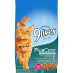 9Lives Plus Care Dry Tuna & Egg Flavors Cat Food 1ea/3.15 oz