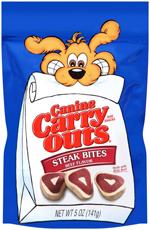 Canine Carry Outs Steak Bites Dog Treats 1ea/5 oz