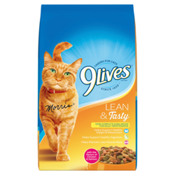 9Lives Lean and Tasty Dry Cat 1ea/3.15 lb