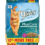 9Lives Plus Care Cat Food 1ea/13.2 lb
