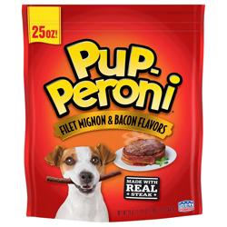 Pup-Peroni Filet Mignon & Bacon Flavor Dog Treats 1ea/25 oz