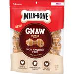 Milk-Bone Chicken Knotted Bone Dog Treats 1ea/10.2 oz, 16 ct, Mini