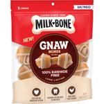 Milk-Bone Chicken Knotted Bone Dog Treats 1ea/9.6 oz, 5 ct, Small/Medium