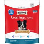 Milk-Bone Brushing Chews Dog Treat 1ea/Small/Medium - Dogs 25-49 lb, 25 ct