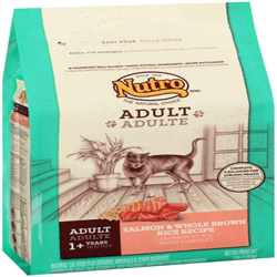 Nutro Products Salmon & Whole Brown Rice Recipe Cat Food 1ea/3 lb