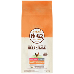 Nutro Products WHOLESOME ESSENTIALS Chicken Brown Rice & Sweet Potato Small Breed Senior 1ea/5 lb