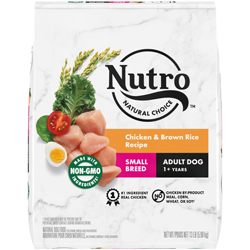 Nutro Products Natural Choice Chicken & Brown Rice Recipe Small Breed Dog Food 1ea/13 lb