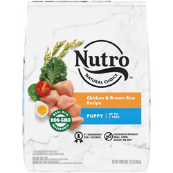 Nutro Products Natural Choice Chicken & Brown Rice Recipe Dry Puppy Dog Food 1ea/13 lb