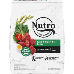 Nutro Products Natural Choice Lamb & Brown Rice Recipe Dry Dog Food 1ea/12 lb