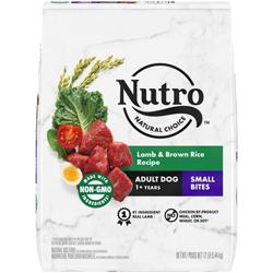 Nutro Products Natural Choice Lamb & Brown Rice Recipe Small Bites Dog Food 1ea/12 lb