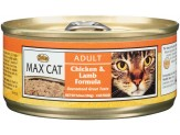 Max Chicken & Lamb Formula Can Cat Food 24Ea/5.5Oz