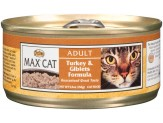 Max Turkey & Giblets Formula Cat Food 24Ea/5.5Oz
