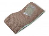 Van Ness Plastics Pureness Scratch'N Relax Cat Scratcher Scratching Pad Brown 1ea