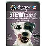 Daves Pet Food Dog Stewlicious Turkey, Sweet Potato & Cranberry Stew 13Oz (Pack Of 12)