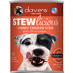 Daves Pet Food Dog Stewlicious Chunky Chicken Stew 13Oz (Pack Of 12)